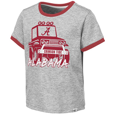Alabama Mud Flap Toddler Boys Short Sleeve T-Shirt