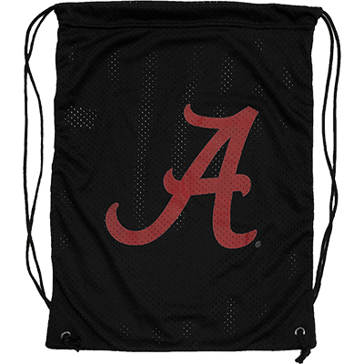 Jersey Mesh Back Sack With Script A