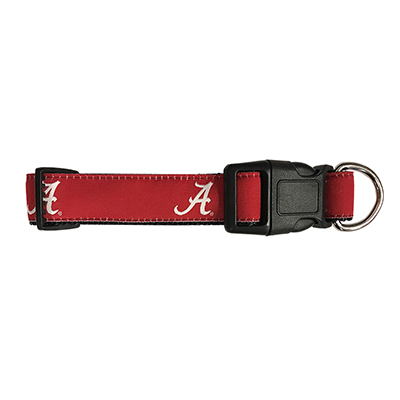 Alabama Dog Collar With Script A