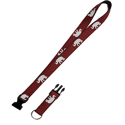 Elephant Lanyard With Release