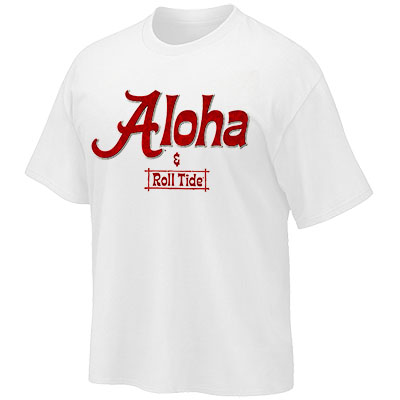 Aloha And Roll Tide T-Shirt