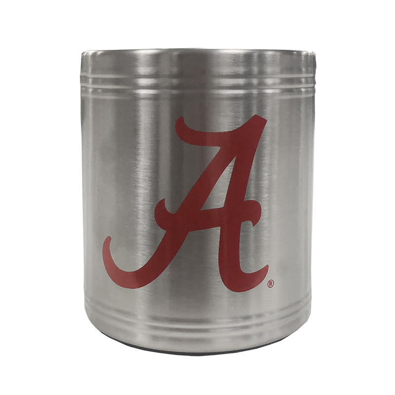 Script A Stainless Steel Can Cooler (SKU 1318153699)