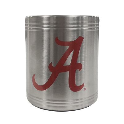 Script A Stainless Steel Can Cooler