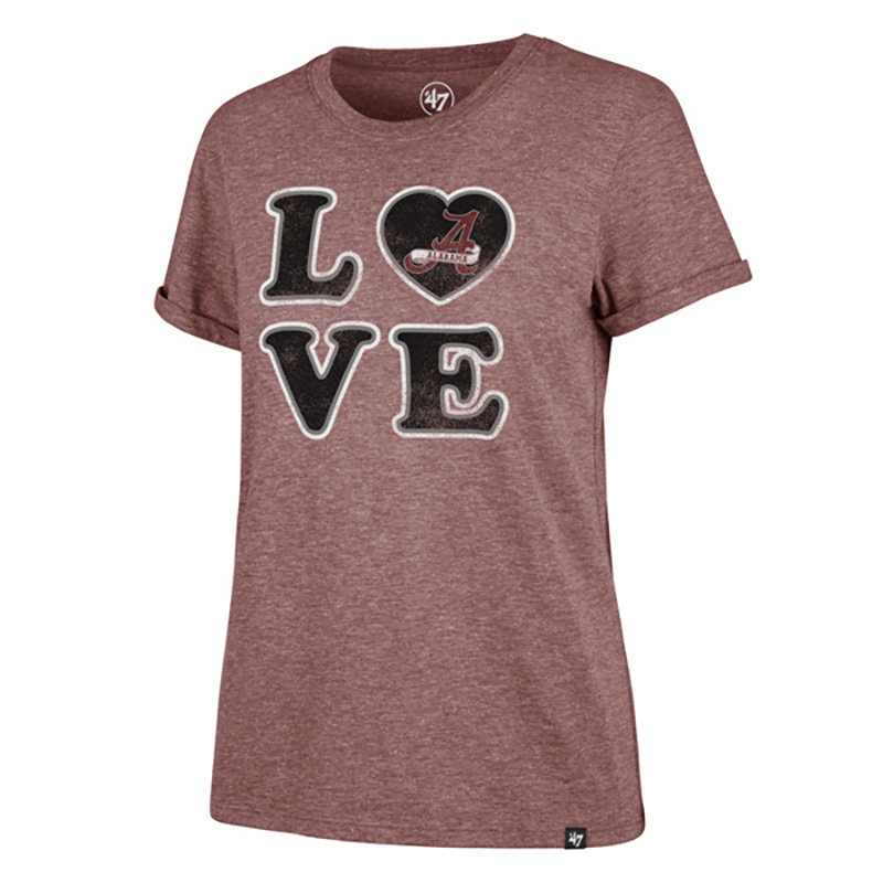 47 Brand Alabama Love Match T-Shirt (SKU 13186524208)