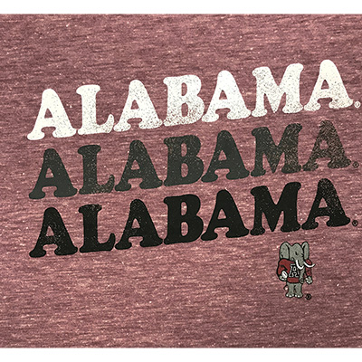 47 BRAND ALABAMA TRIO MATCH T-SHIRT