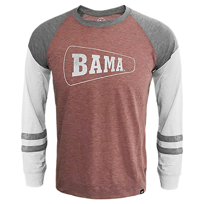 47 Brand Bama Imprint Match Long Sleeve T-Shirt