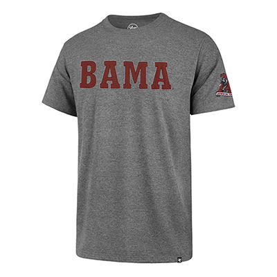 47 Brand Bama Fieldhouse T-Shirt With Vault Logo