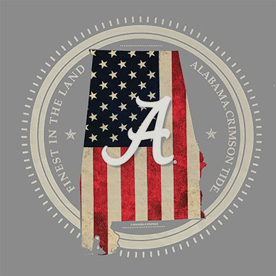 ALABAMA STATE PATRIOT T-SHIRT