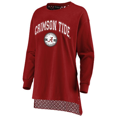 Crimson Tide Going Places Oversized Tunic