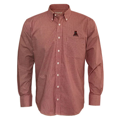 TUSKWEAR WRINKLE FREE LONG SLEEVE DRESS SHIRT