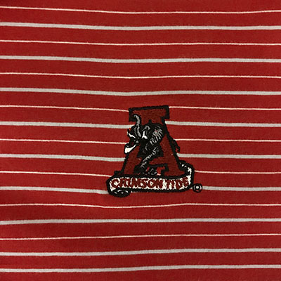 TUSKWEAR ALABAMA PERFORMANCE POLO WITH VAULT LOGO