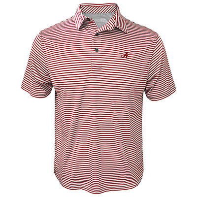 Tuskwear Coastal Stripe Polo With Script A