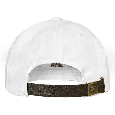 TUSKWEAR VINTAGE A LEATHER STRAP CLASSIC HAT