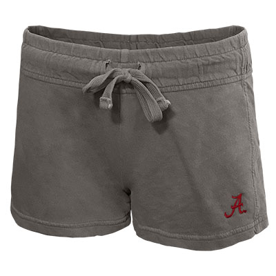 TUSKWEAR FRENCH TERRY COMFY SHORTS WITH SCRIPT A