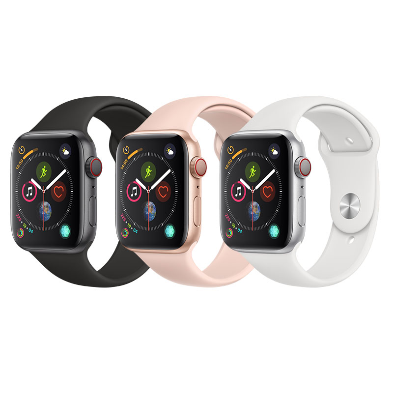 Apple Watch Series 4 Gps + Cellular Aluminum Case With Sport Band (SKU 13194178222)