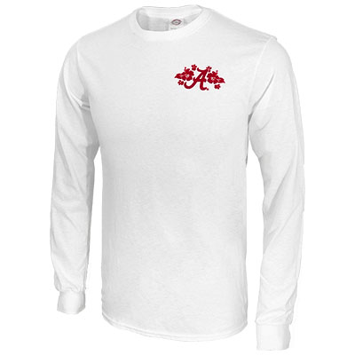 ALABAMA HAWAIIAN SCRIPT A LONG SLEEVE T-SHIRT