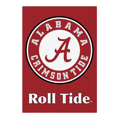 Circle Logo Banner Roll Tide