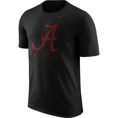 Alabama Nike Short Sleeve Legend Team Issue Baseball T-Shirt