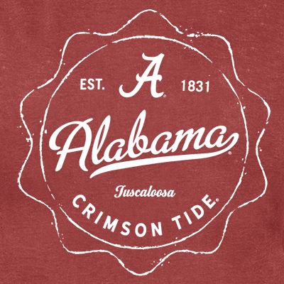 ALABAMA VINTAGE CLAIMSTAKE T-SHIRT EST. 1831