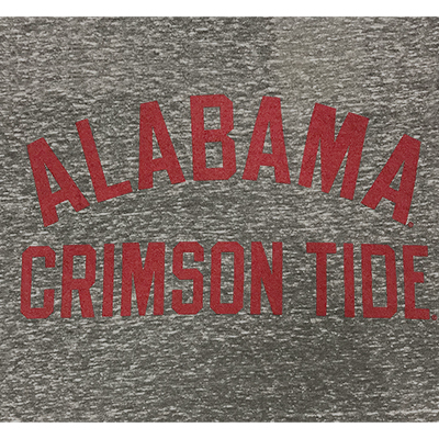 ALABAMA TRAVIS KNOBI ROUNDED BOTTOM CREW T-SHIRT