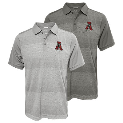 Alabama Cutter & Buck Cresent Polo With Vault Logo