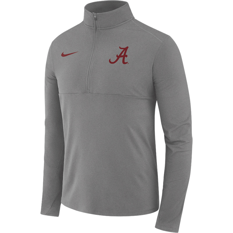 Alabama Men's Nike Long Sleeve Half Zip Core (SKU 13203726158)