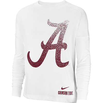 Alabama Women's Nike Breathe Long Sleeve Oversize Top