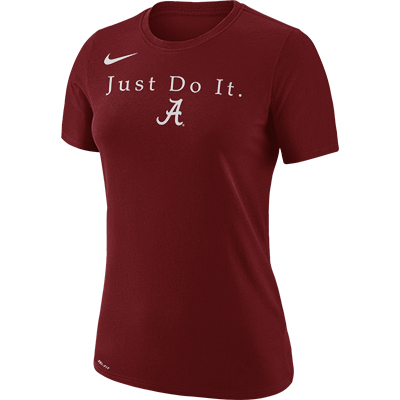 Alabama Women's Dry Team Just Do It T-Shirt