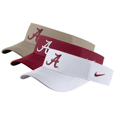 40bd1df20e2 Alabama Nike Dry Visor