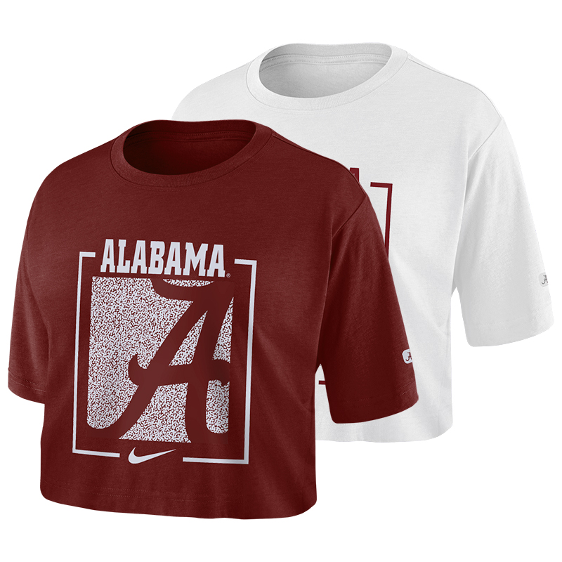 Alabama Women's Nike Dry Crop T-Shirt (SKU 13206765158)