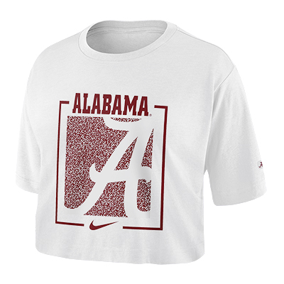 ALABAMA WOMEN'S NIKE DRY CROP T-SHIRT