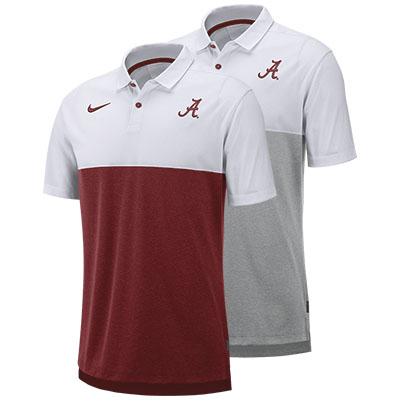 Alabama Script A Nike Breathe Polo 2