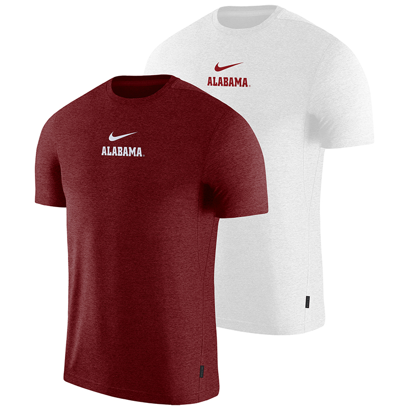 Alabama Men's Nike Dry Short Sleeve Coach T-Shirt (SKU 13207304158)