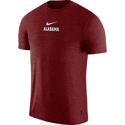 ALABAMA MEN'S NIKE DRY SHORT SLEEVE COACH T-SHIRT