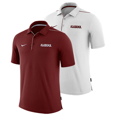 Alabama Men's Nike Team Issue Uv Polo