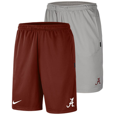Alabama Nike Dry Coaches Shorts