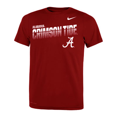 Alabama Crimson Tide Boy's Legend Sideline T-Shirt