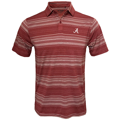 Men's Omni-Wick Slide Polo Shirt With Script A