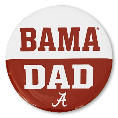 Bama Dad Button