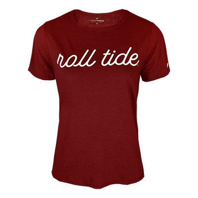 Roll Tide Unwind Back Tie Short Sleeve Shirt