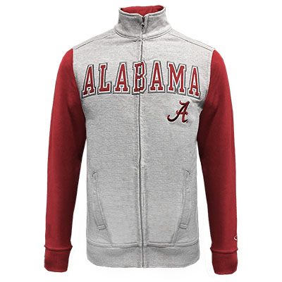 Alabama Super Fan Made To Order Full Zip Varsity Jacket
