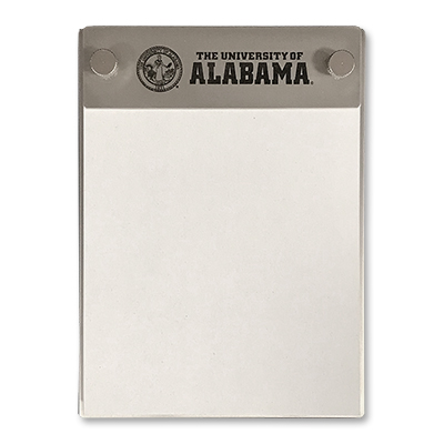 Note Pad Holder With The University Of Alabama Seal