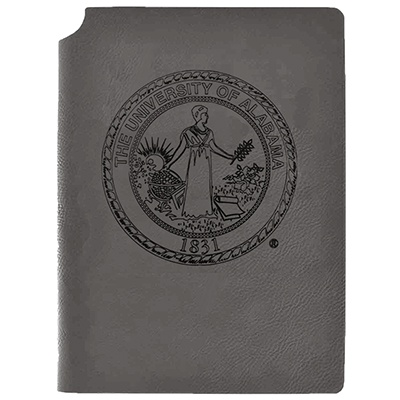 Lxg Velour Journal Ua Seal Grey