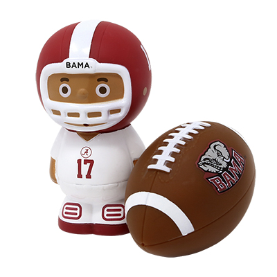 Alabama Football 2 Pc Bath Toy