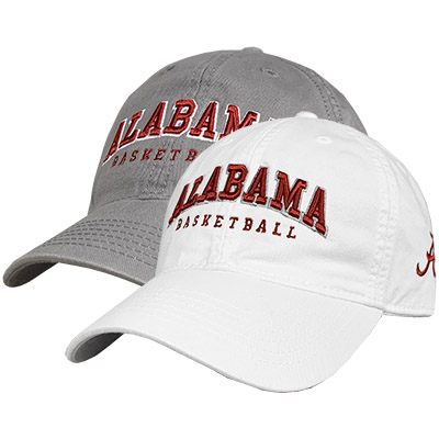 Relaxed Twill Cap Alabama Basketball With Script A