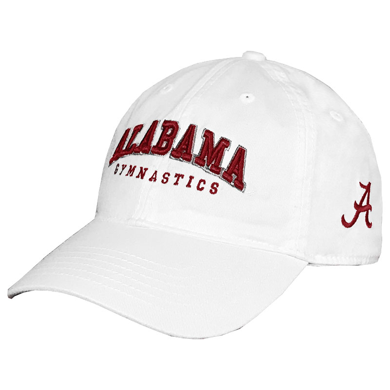 Alabama Gymnastics With Script A Relaxed Twill Cap (SKU 13222574112)