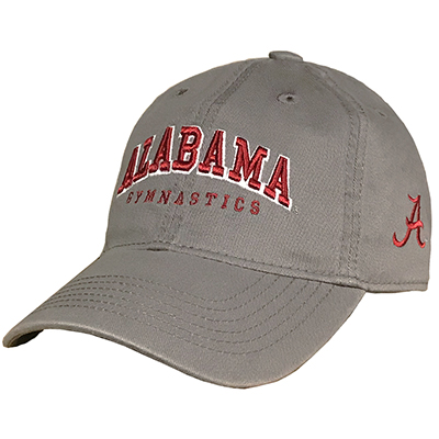 Alabama Gymnastics With Script A Relaxed Twill Cap