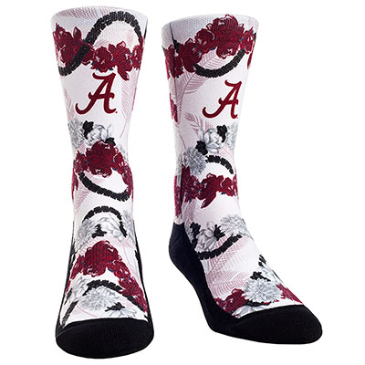 Alabama Hawaiian Sock