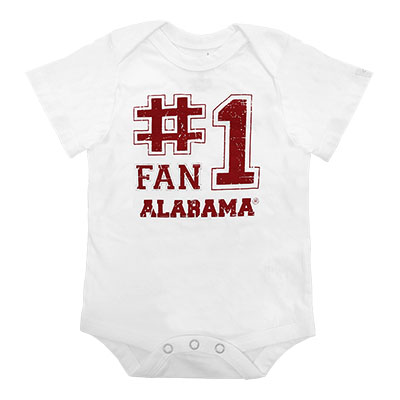Alabama #1 Fan Otis Onesie