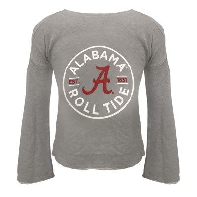 Girl's Alabama Roll Tide Amy Bell Sleeve Pullover